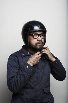 SHINYA KIMURA - Motorcycle Mechanic.   8negro
