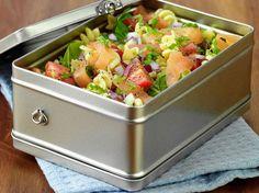 Salade composée au saumon fumé, facile
