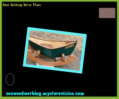 Boat Rocking Horse Plans 203203 - Woodworking Plans and Projects!