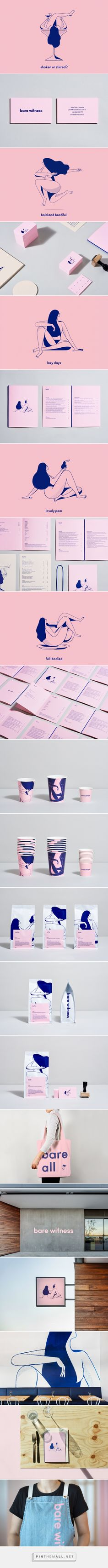 Bare Witness – Visual Journal - created on Branding And Packaging, Logo Branding, Brand Identity Design, Graphic Design Typography, Coperate Design, Restaurant Logo, Stationary Design, Design Poster, Grafik Design