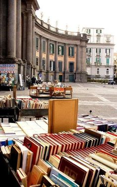 Piazza Dante Naples, Italy by annie