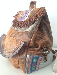 BackPack [ handmade by jardim de vidro ]