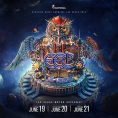 Posters created for EDC Las Vegas 2015 event.