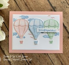 Stampin' Up! Graduation Card – Above the Clouds Bundle – Stamp It Up with Jaimie Senior Gifts, Handmade Birthday Cards, Handmade Cards, Hand Stamped Cards, Above The Clouds, Stampin Up Christmas, Bird Cards, Stamping Up Cards, Card Making Techniques