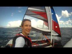 unedited - Laura Dekker sailing MiniCat 420 in The Bay of Islands, New Z...