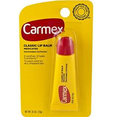 Carmex Classisc Lip Balm Medicated 035 oz -- Learn more by visiting the image link.(This is an Amazon affiliate link)
