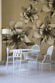 Креативные обои от итальянской компании Wall & Deco | Пуфик - блог о дизайне интерьера