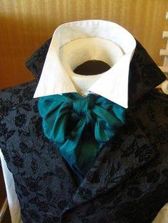 REGENCY Brummel Victorian Ascot Tie Cravat  by elegantascot