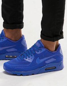 Nike+Air+Max+90+Ultra+Breathe+Trainers+725222-402