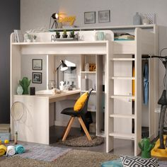 Stompa Noah C High Sleeper with Sofa Bed, Desk & Shelf – Family Window Bed Desk, High Sleeper Bed, Bed Design, Bed With Wardrobe, Cabin Bed, Loft Bed, Kid Beds, Small Room Bedroom, Bunk Bed Designs