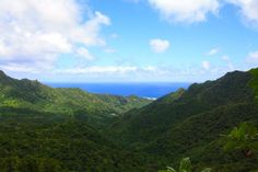 View from The Needle on Rarotonga #travelpics #photography @CookIslands