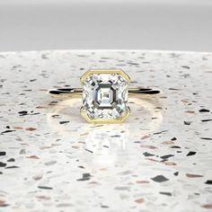 Designer Engagement Rings, Engagement Ring Settings, Dream Ring, Conflict Free Diamonds, Vintage Diamond, Princess Cut, Bling Bling, Ring Designs, Diamond Rings