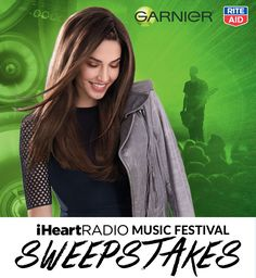 Enter and you could win a VIP trip to the iHeartRadio Music Festival in Las Vegas in the Garnier Rite Aid iHeartRadio Ticket Giveaway! Check it out now. Sweepstakes ends August 1, 2015.