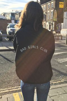 'Bad Girls Club' jacket by Olive and Frank.