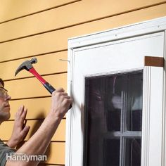 a binding, sticking storm door will eventually cause more damage if it's not repaired. here's how to diagnose the problem and make the door hang properly and close smoothly.