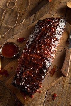 """Dry Style"" Rub Only BBQ Ribs 
