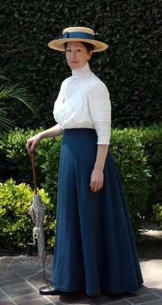 Lovely made up Past Patterns 405 Tucked Blouse by Historical Alterations...