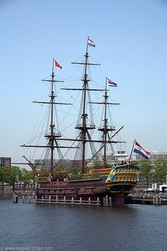 The VOC Ship 'Amsterdam'