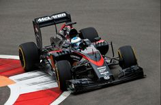 Team McLaren at Sochi, Russia