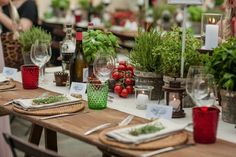 Edible Table Decorations