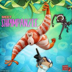 Cloudy With A Chance Of Meatballs 2 Food Animal Hybrids Teaser Trailer This Is An Outstanding Pun