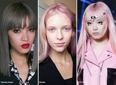 Spring/ Summer 2016 Hair Color Trends  #hair #hairstyles #trends #ss16