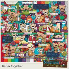 "BoomersGirl Designs: ""Better Together"" - Fun New Kit!"
