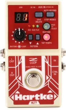 Hartke HL77 Looper - Bass Looper Pedal   Gearnuts.com