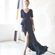 Elegant, easy, and comfortable – the solid-colored maxi is working overtime.