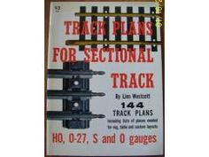 Track Plans for Sectional Track by Linn Westcott
