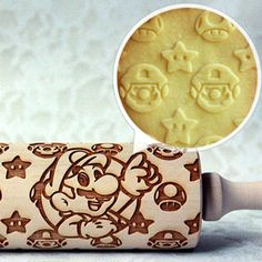 Shut Up And Take My Yen | Super Mario Rolling PinSuper Mario Rolling Pin - Shut Up And Take My Yen (for Amanda)