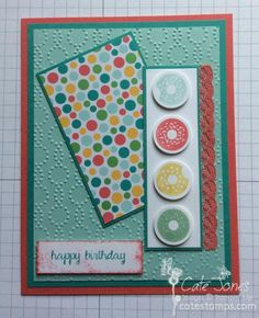 Sprinkles and Dots BB70 by Britbook70 - Cards and Paper Crafts at Splitcoaststampers