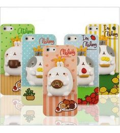 Molang iPhone 5/ 5S 3D Phone Cover.