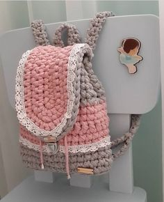 "New Cheap Bags. The location where building and construction meets style, beaded crochet is the act of using beads to decorate crocheted products. ""Crochet"" is derived fro Mochila Crochet, Bag Crochet, Crochet Clutch, Crochet Handbags, Crochet Purses, Love Crochet, Crochet Crafts, Crochet Projects, Crochet Backpack Pattern"
