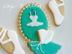 Ballet Cookies - Love the Colors!