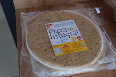 Massas integrais para pizza