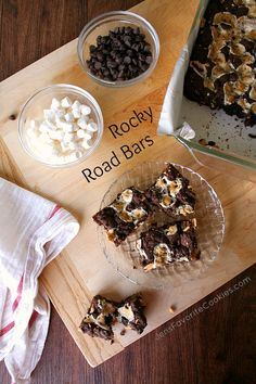 Rocky Road Bars from Jen's Favorite Cookies