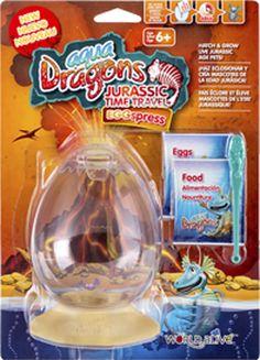 Aqua Dragons Jurassic EggSpress Blister