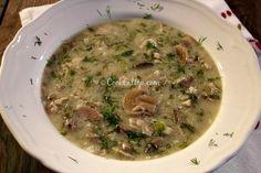 Κοτόσουπα μαγειρίτσα Greek Cooking, Meat Recipes, Meat, Easy Meals