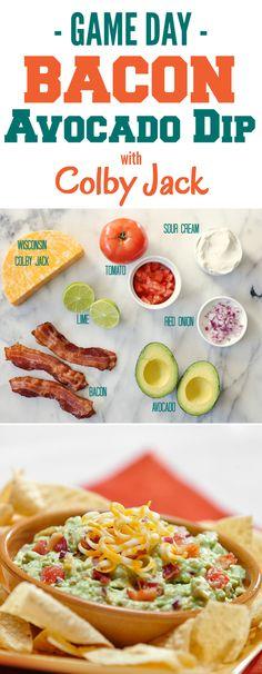 Easy Bacon Avocado Dip