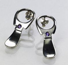 Ring pull earrings