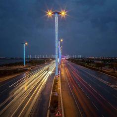 Hamad International Airport Road #Doha #Qatar @salehalmeer Like  Comment  Tag  TAG YOUR Awesome Photos  #Qatarism