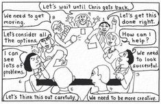 The Types Working Together Cartoon - enneagram Photo