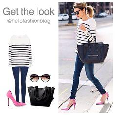 Consigue el look de las bloggers más de moda  @hellofashionblog #blogger #inspiration #fashionblogger #tagsforlike #outfit #ootd