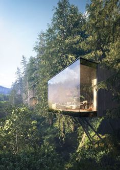 Revugia | The extraordinary forest hotel resort - A full CGI ProjectOur client is planning the construction of a nationwide unique wellness & spa hotel resort in the middle of a forest. The task was to show the specificity of this project and to create …