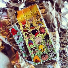 you can see at the top this lsd wasn't stored correctly or mishandled, hate to be the guy who bought those.