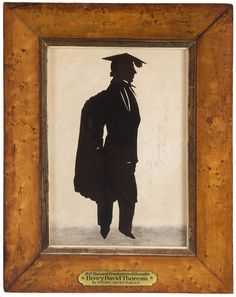 William James Hubard Henry D. Thoreau, Cut paper silhouette portrait, Cambridge, The Neil and Anna Rasmussen Collection. Painting, Outline Art, Art, Henry David Thoreau, Portrait, Silhouette Portrait