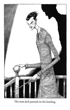 jeannygrey: The Graveyard Book by Neil Gaiman, illustrated by Chris Riddell