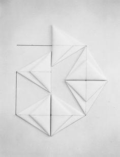 Dorothea Rockburne - Sheba, 1980.