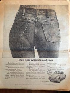 1973 Volkswagen Beetle Ad in The Sun